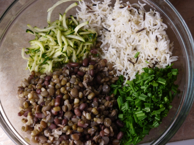 how to cook lentils and brown rice together