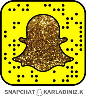 Snapchat: karladiniz.k