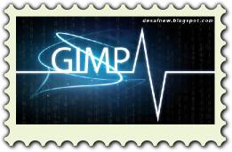 Desain perangko di Inkscape