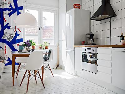 Una casa fresca e luminosa a Göteborg