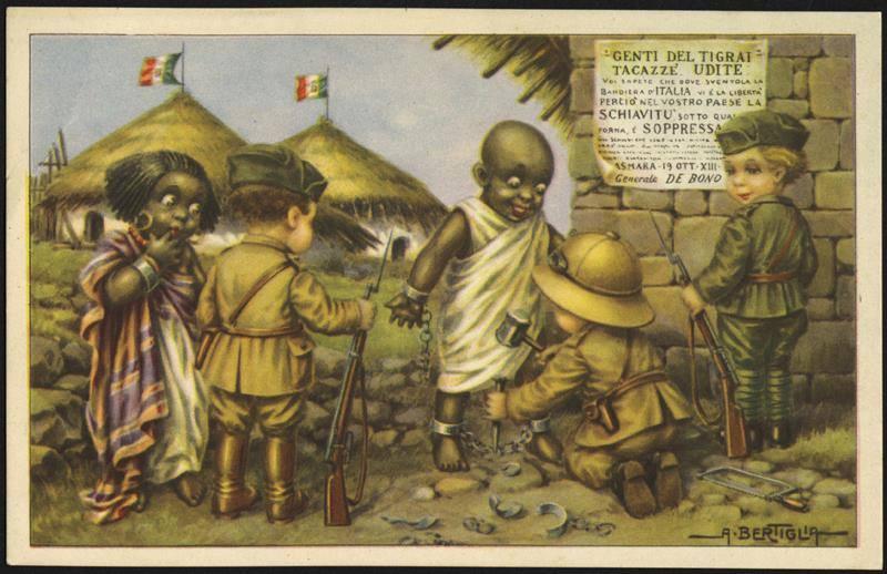El Duce,libertador de Etiopía