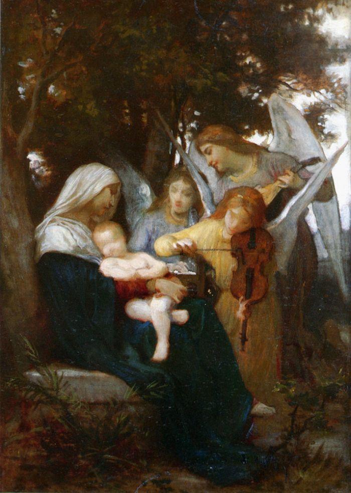 Bouguereau Painting German Artist