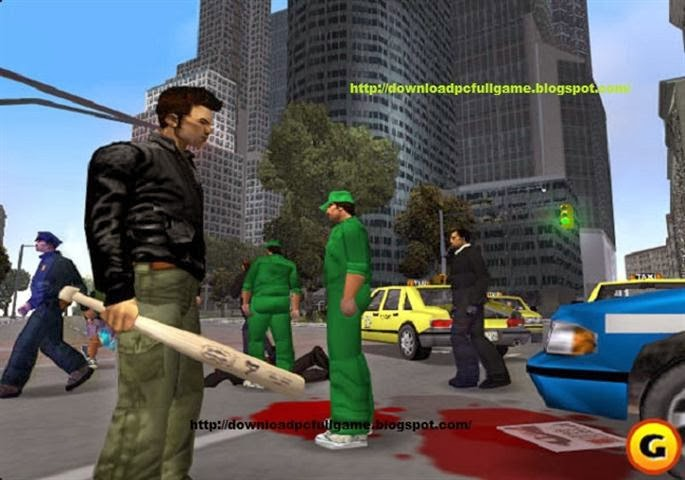 GTA 3 Full Version PC Games Grand Theft Auto III - Liberty City Free Downloads