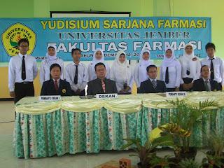 Yudisium Fakultas Farmasi Universitas Jember