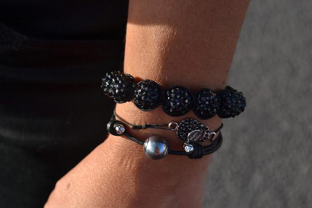 Working_girl:_Denim_&_Black_Blanco_Mango_Ebay_Bershka_Majorica_bracelets