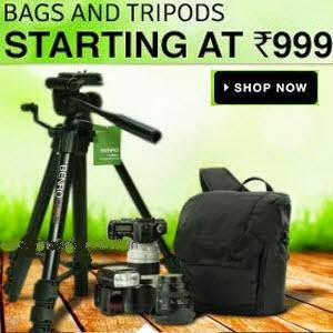 Flipkart: Buy Cameras and Accessories Upto 83% off from Rs.99