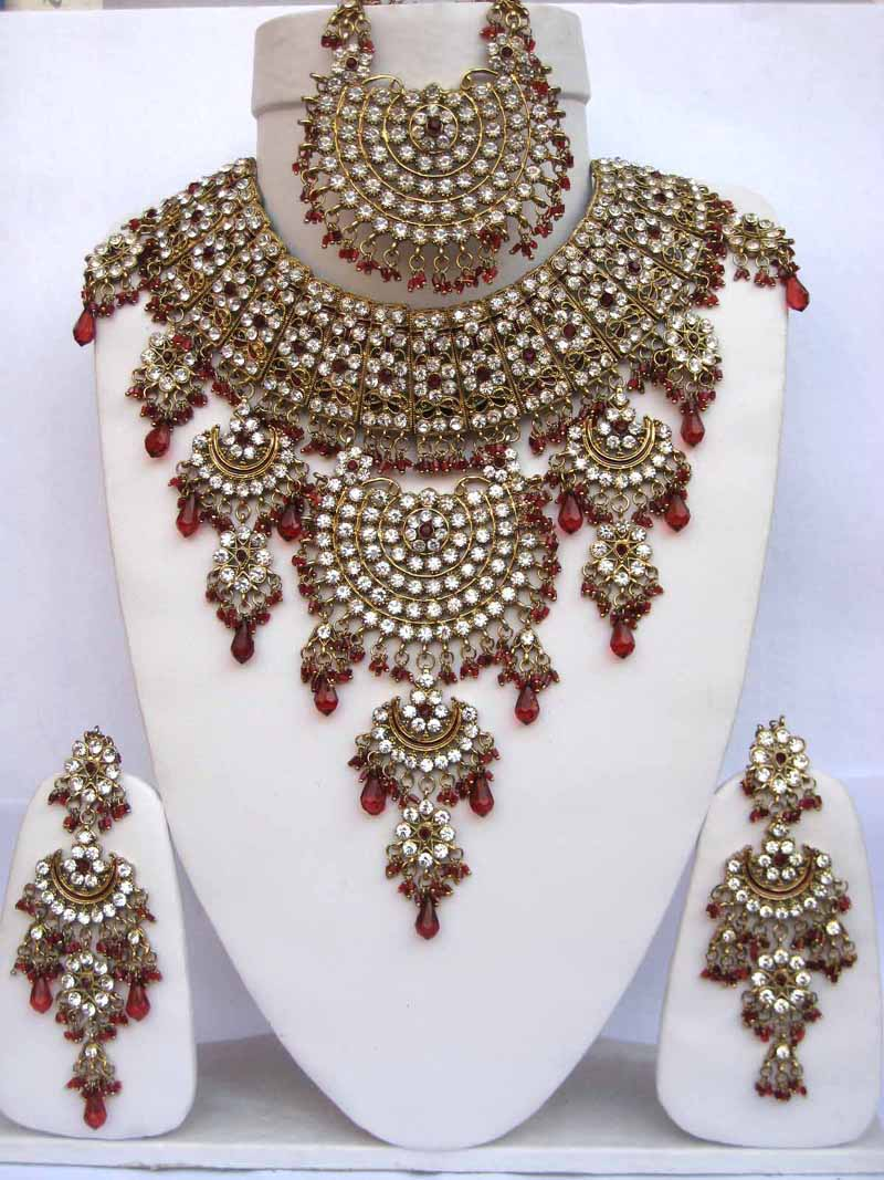 Gold Wedding Jewelry Sets For Brides Bridal jewelry pearl set gold