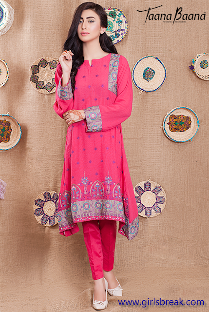 Taana Baana Eid Fall Collection 2015 www.cutegirls9.blogspot.com-