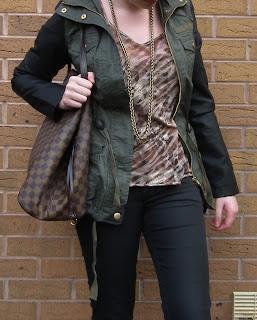 Sammi Jackson - Army Jacket