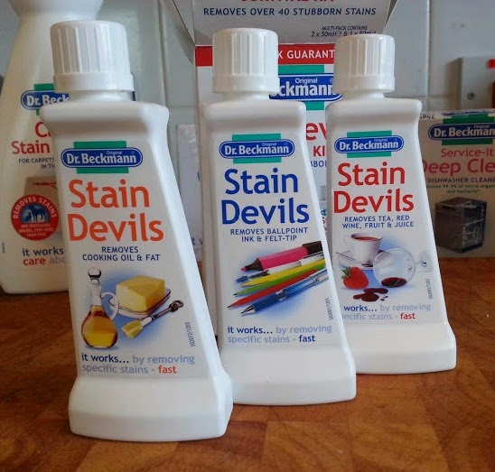 Dr Beckmann Stain Devils Survival Kit 3 bottles