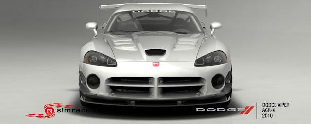 Simraceway nuevo coche Viper 3