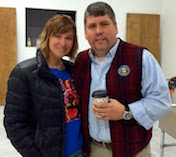 Dan & Patti Dringoli of Bare Bones Brewery
