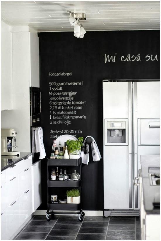 Mi rinc n de sue os personalizar tu cocina - Cocina blanca encimera negra ...