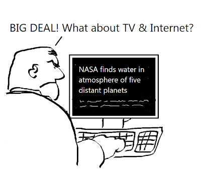 BIG DEAL! What about TV & Internet?