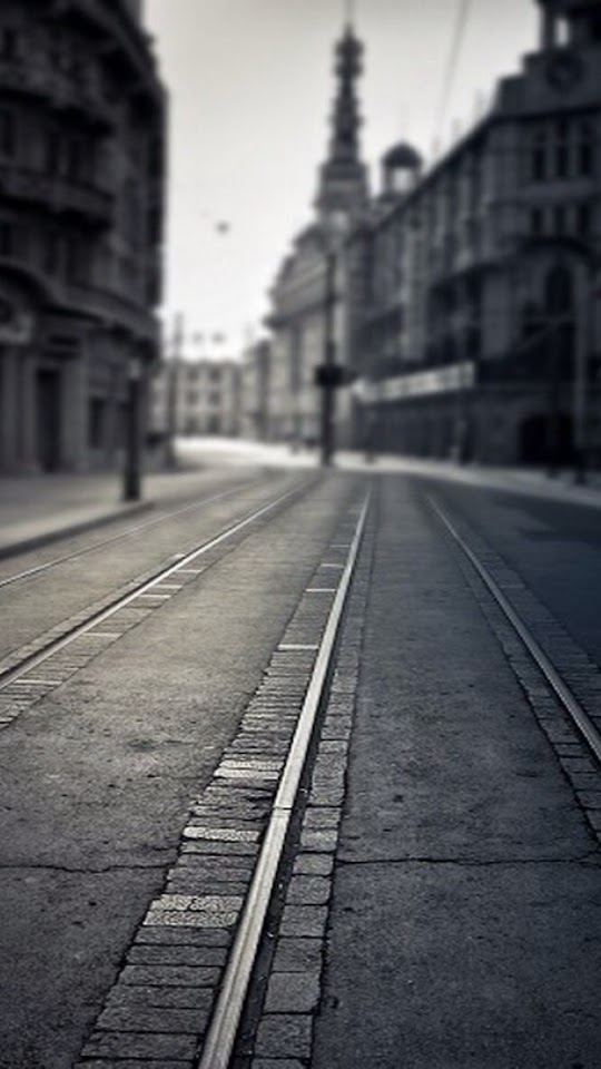 Empty Street   Galaxy Note HD Wallpaper