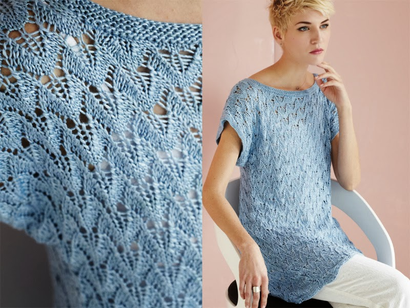 Knitting Vogue 2014 : The knitting needle and damage done vogue