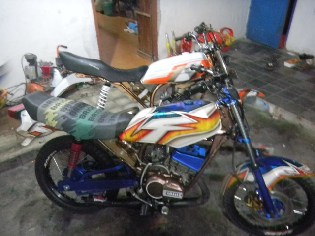 HASIL MODIFIKASI MOTOR AIR BRUSH ( AN-X CUSTOM ) title=