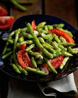 Salada de Vagem com Tomate (vegana)
