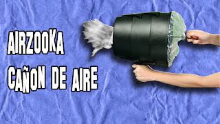 Airzooka Cañon de aire