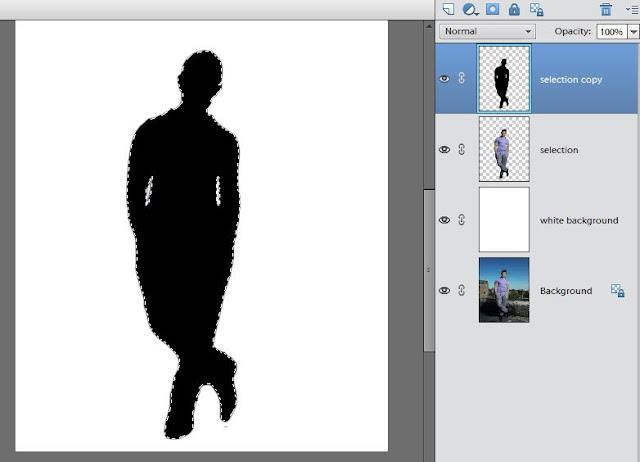 Adding Shadow using Adobe Photoshop Elements