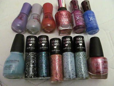 nail polish haul essence hard candy