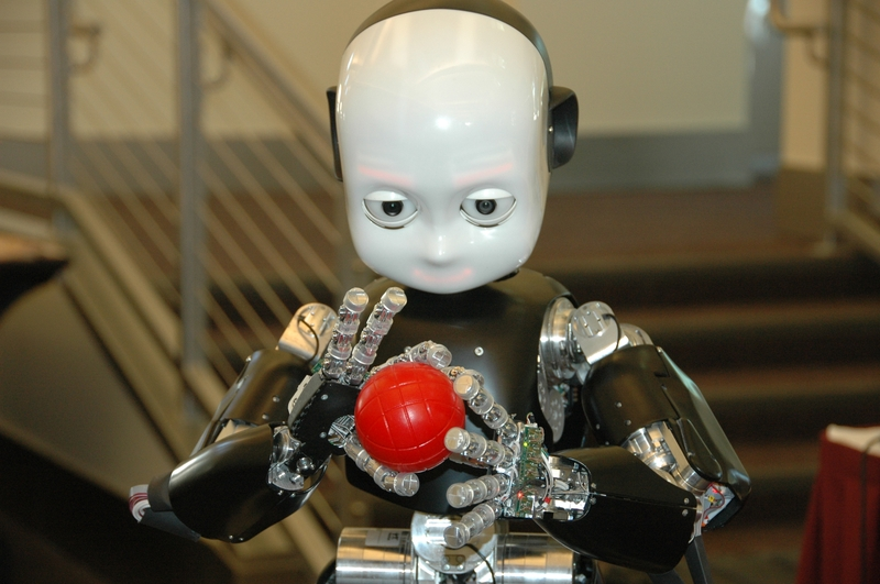 Artificial Intelligence iCub Robot