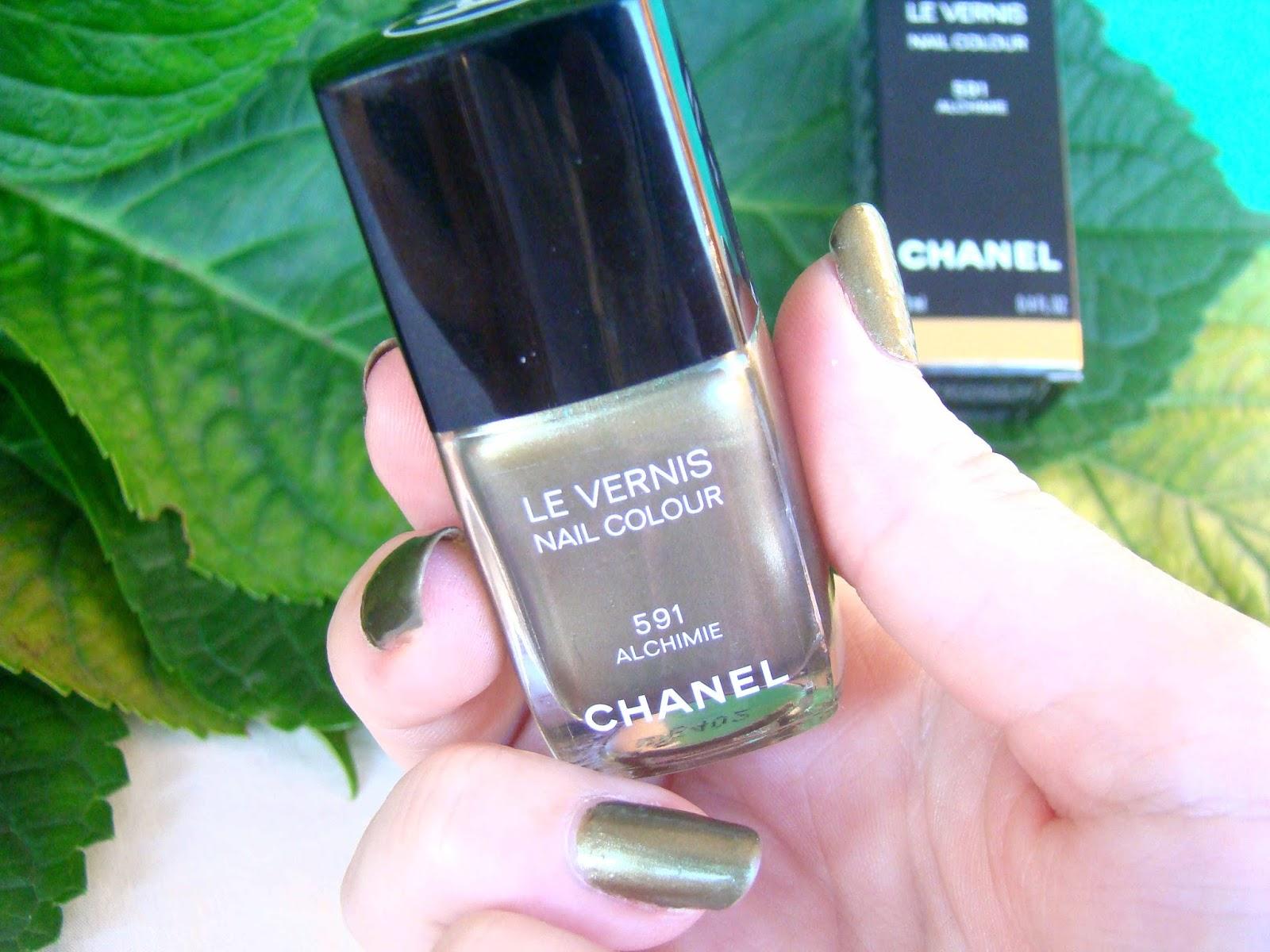 Vernis Chanel Alchimie 591