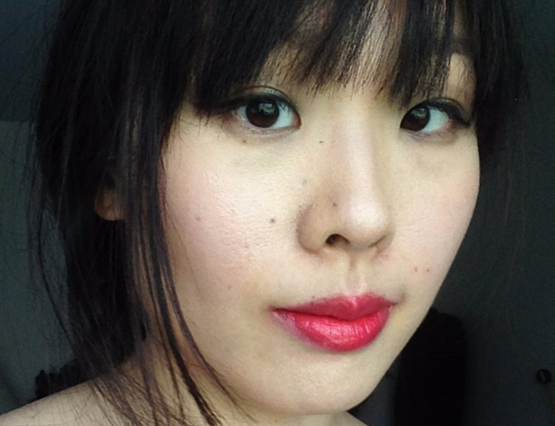 YSL Corail Incandescent Lip Swatch and FOTD