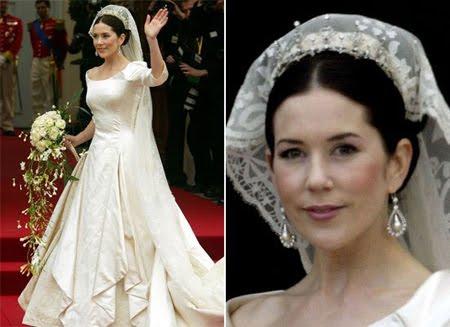 Сватбената рокля на Принцеса Мари от Дания
