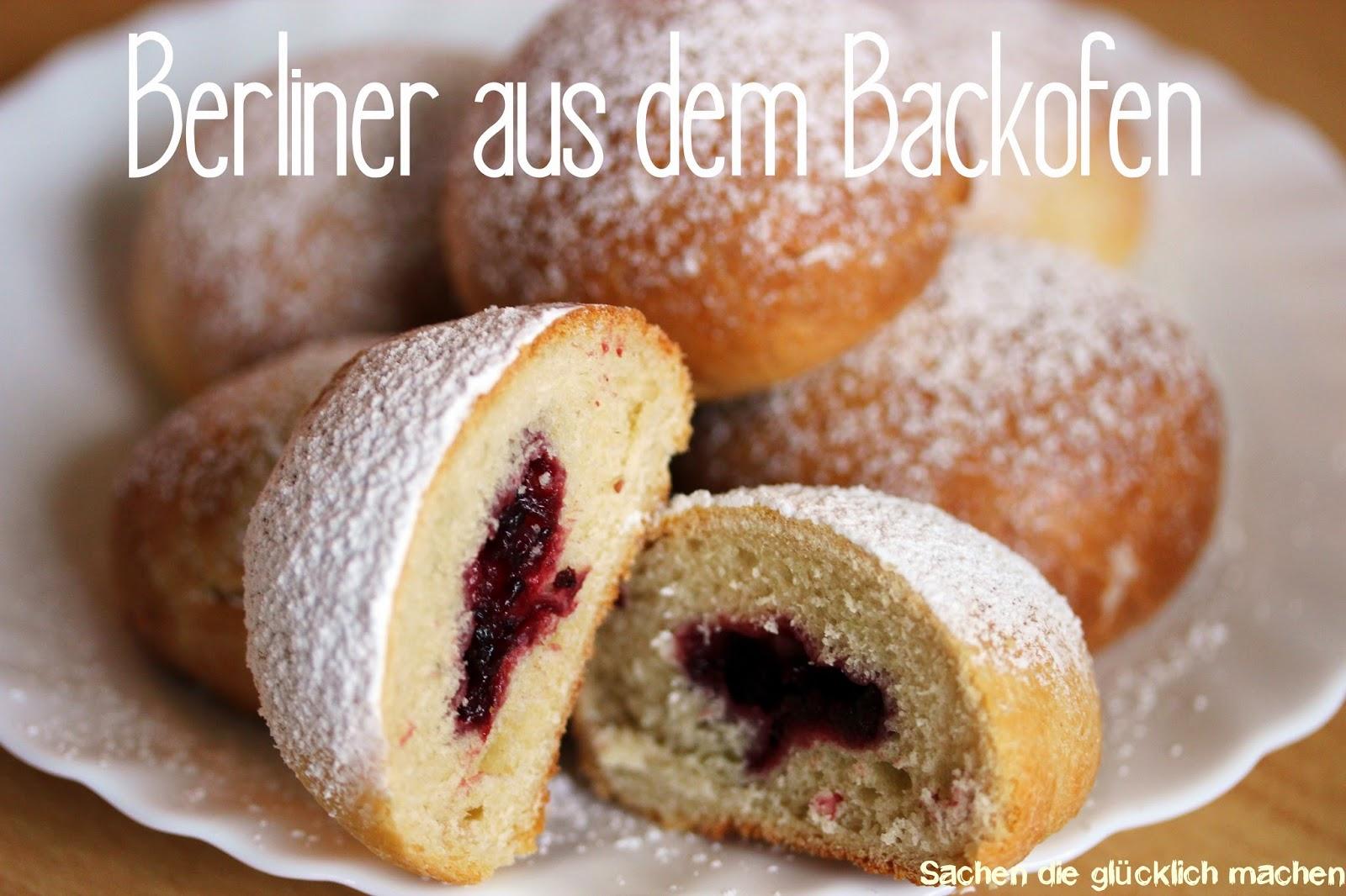 Sachen Die Glücklich Machen Berlinerkreppelpfannkuchenkrapfen