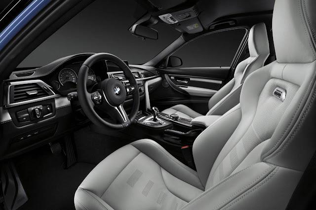 Novo BMW M3 2016 - interior