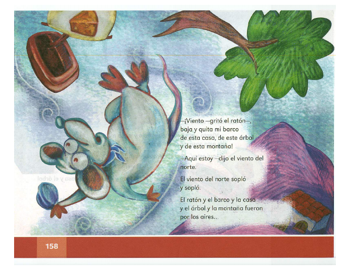 El ratón y los vientos español lecturas 2do bloque 5/2014-2015
