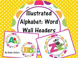 printable word wall headers