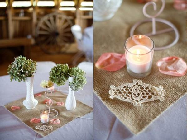 decoracao casamento juta : decoracao casamento juta:Juntando as escovas: Juta na decoração do casamento