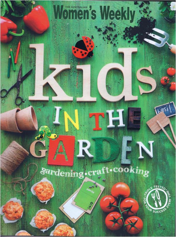 Our garden featured in children 39 s gardening book for Children s books about gardening