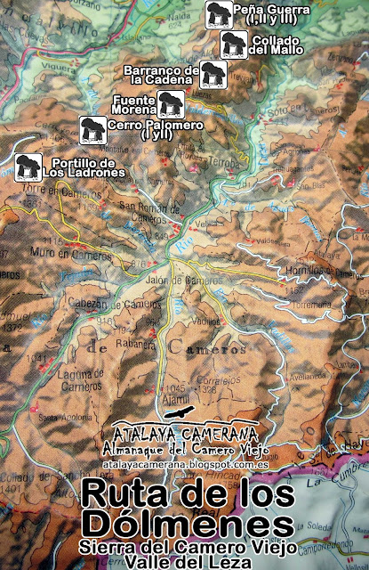 Sierra del Camero Viejo - Valle del Leza: Ruta de los Dólmenes