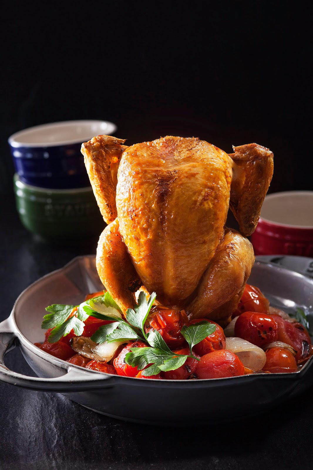 staub vertical chicken roaster instructions