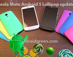 Android Lollipop En Motorola