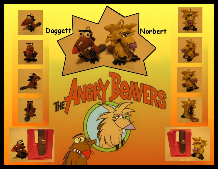 The Angry Beavers Animated Television Series