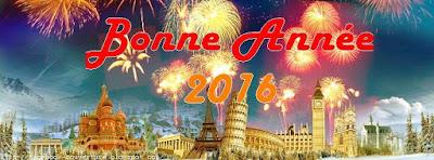 Jolie image de couverture facebook Bonne Année 2016