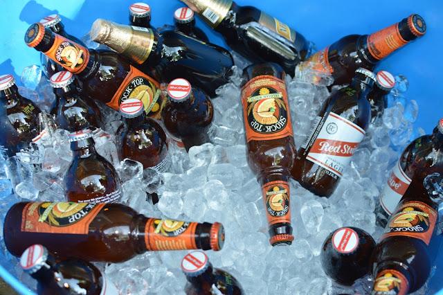 Bucket of beer - Impromptu BBQ - The City Dweller