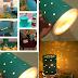 Lampu romantik homemade