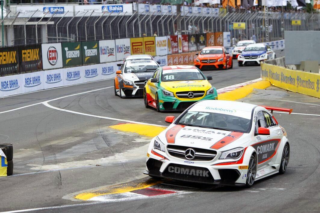 6ª etapa da Mercedes Benz Challenge no circuito do Centro Administrativo da Bahia em Salvador (Foto: Camila Souza/GOVBA)