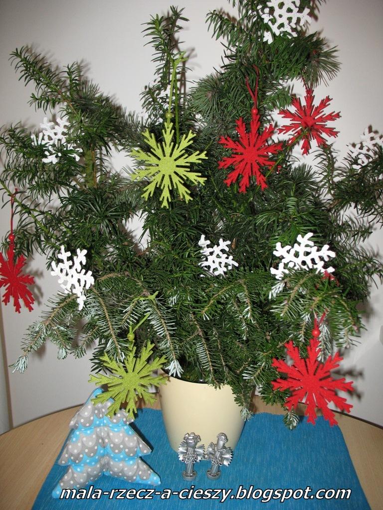 Mój świąteczny stroik 2014