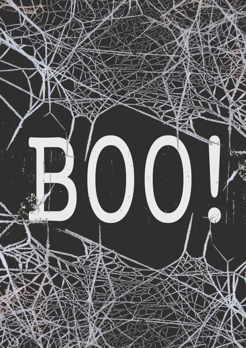 free halloween printable BOO!