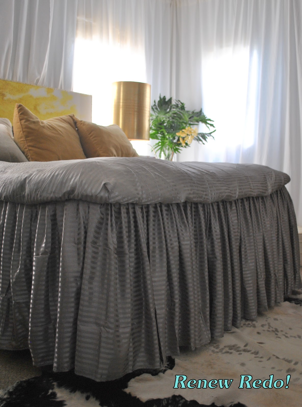 Renew Redo Ruffled Bed From Bed Sheets How To