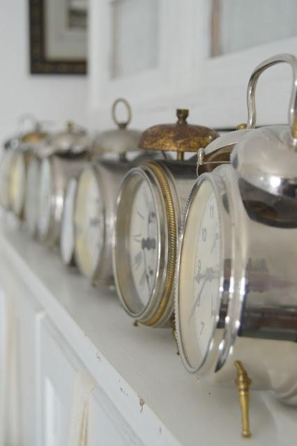 Min samling av gamla klockor