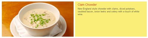 California Pizza Kitchen (CPK) Clam Chowder