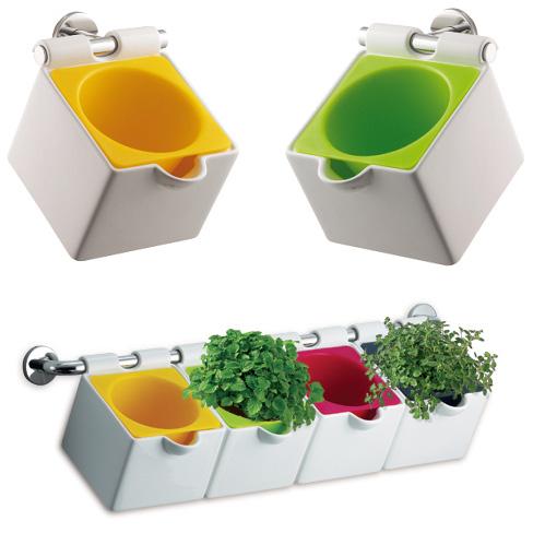 I d e a espacio cocina plantas - Macetas para cocina ...