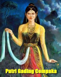 Kisah Putri Gading Cempaka Dari Bengkulu